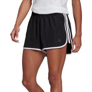 アディダス カジュアルパンツ ボトムス レディース adidas Women's Marathon 20 Shorts Black/Black astyshop
