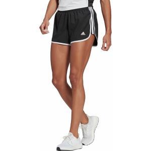 アディダス カジュアルパンツ ボトムス レディース adidas Women's Marathon 20 Shorts Black/White astyshop