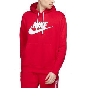 ナイキ パーカー・スウェットシャツ アウター メンズ Nike Men's Futura Club Fleece Hoodie University Red/White astyshop