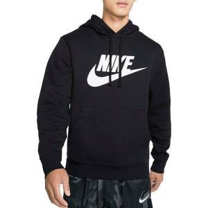 ナイキ パーカー・スウェットシャツ アウター メンズ Nike Men's Futura Club Fleece Hoodie Black/Black/White astyshop