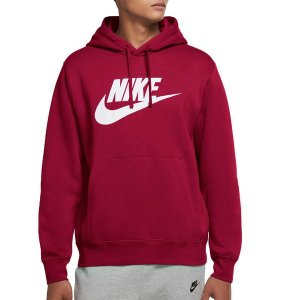 ナイキ パーカー・スウェットシャツ アウター メンズ Nike Men's Futura Club Fleece Hoodie Pomegranate astyshop