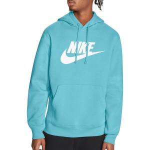ナイキ パーカー・スウェットシャツ アウター メンズ Nike Men's Futura Club Fleece Hoodie Bleached Aqua astyshop
