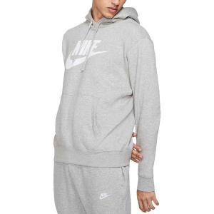 ナイキ パーカー・スウェットシャツ アウター メンズ Nike Men's Futura Club Fleece Hoodie Dk Grey Heather/Matte Sil astyshop