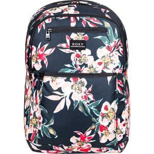 ロキシー バックパック・リュックサック バッグ メンズ Roxy Women's Here You Are Printed Backpack ANTHRACITE WONDER GARDEN|astyshop