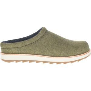 メレル スニーカー シューズ メンズ Merrell Men's Juno Clog Wool Shoes Olive|astyshop