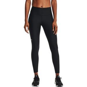 アンダーアーマー カジュアルパンツ ボトムス レディース Under Armour Women's HeatGear HiRise Leggings Black/White astyshop