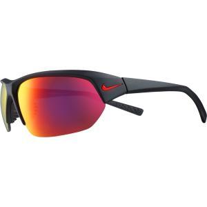 ナイキ サングラス・アイウェア アクセサリー メンズ Nike Skylon Ace Sunglasses Matte Blk/Grey/Red Mirror astyshop