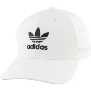 アディダス 帽子 アクセサリー メンズ adidas Originals Men's Beacon II Precurve Snapback Hat White astyshop