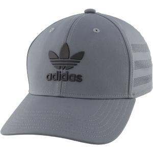 アディダス 帽子 アクセサリー メンズ adidas Originals Men's Beacon II Precurve Snapback Hat Onix/Black astyshop