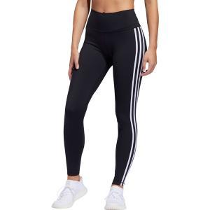 アディダス カジュアルパンツ ボトムス レディース adidas Women's Believe This 3 Stripes Tights Black/White astyshop