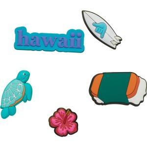 クロックス サンダル シューズ メンズ Crocs Jibbitz Hawaii 5 Pack Multi|astyshop