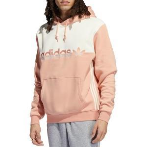アディダス パーカー・スウェットシャツ アウター メンズ adidas Originals Men's Split Hoodie Ambient Blush/Cream White astyshop
