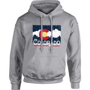 イメージワン パーカー・スウェットシャツ アウター メンズ Image One Men's Colorado Graphic Hoodie Graphite astyshop