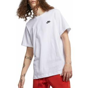 ナイキ Tシャツ トップス メンズ Nike Men's Sportswear Club T-Shirt White astyshop