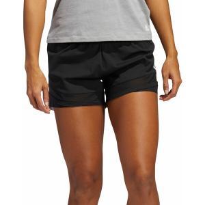 アディダス カジュアルパンツ ボトムス レディース adidas Women's Heat Ready Shorts Black astyshop