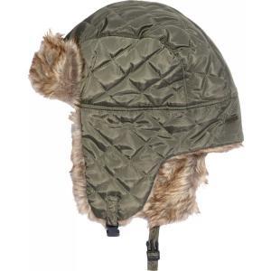 フィールドアンドストリーム 帽子 アクセサリー メンズ Field and Stream Quilted Trapper Hat Green astyshop