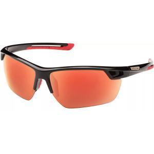 サンクラウド オプティクス サングラス・アイウェア アクセサリー メンズ Suncloud Optics Contender Polarized Sunglasses Black/Red astyshop
