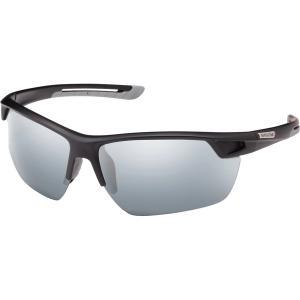 サンクラウド オプティクス サングラス・アイウェア アクセサリー メンズ Suncloud Optics Contender Polarized Sunglasses Black/Silver astyshop