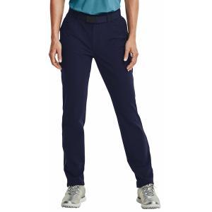 アンダーアーマー カジュアルパンツ ボトムス レディース Under Armour Women's Cold Gear Infrared Links 5 Pocket Golf Pant Mdn Navy/Metallic Silver astyshop
