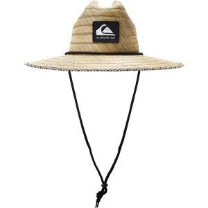 クイックシルバー 帽子 アクセサリー メンズ Quiksilver Men's Dredged Straw Lifeguard Hat Mint astyshop