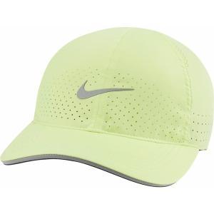 ナイキ 帽子 アクセサリー メンズ Nike Dri-FIT Aerobill Featherlight Perforated Running Hat Lt Lemon Twist astyshop