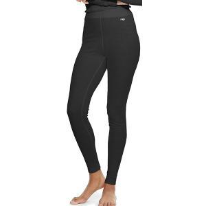 デュオフォールド カジュアルパンツ ボトムス レディース Duofold Women's Baselayer Thermal Pants Black astyshop