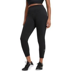 ナイキ カジュアルパンツ ボトムス レディース Nike Women's Plus Size One Mid-Rise Leggings Black astyshop