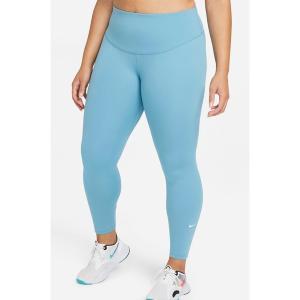 ナイキ カジュアルパンツ ボトムス レディース Nike Women's Plus Size One Mid-Rise Leggings Cerulean astyshop