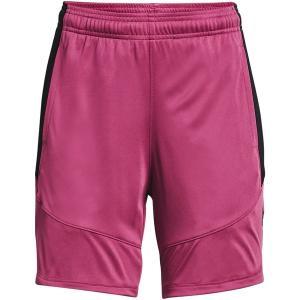 アンダーアーマー カジュアルパンツ ボトムス レディース Under Armour Women's Colorblock 6'' Basketball Shorts Pink Quartz/Black astyshop