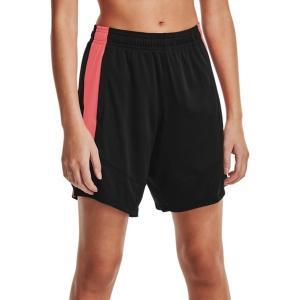 アンダーアーマー カジュアルパンツ ボトムス レディース Under Armour Women's Colorblock 6'' Basketball Shorts Black/Beta astyshop