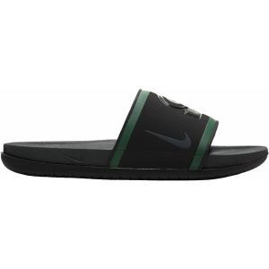 ナイキ サンダル シューズ メンズ Nike Men's Offcourt Packers Slides Black/Green/Yellow|astyshop