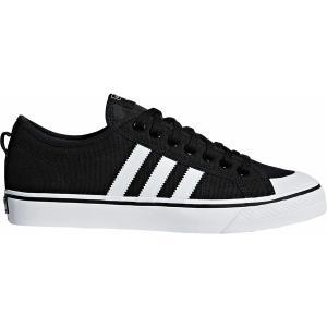 アディダス スニーカー シューズ メンズ adidas Men's Originals Nizza Shoes Black/White|astyshop