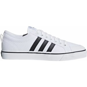 アディダス スニーカー シューズ メンズ adidas Men's Originals Nizza Shoes White/Black|astyshop
