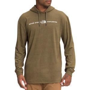 ノースフェイス パーカー・スウェットシャツ アウター メンズ The North Face Men's Triblend Pullover Hoodie Military Olive astyshop