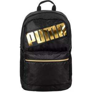 プーマ バックパック・リュックサック バッグ メンズ PUMA Women's Train Backpack Black/Gold|astyshop
