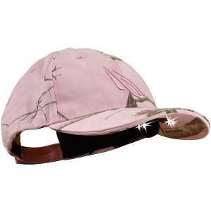 パンサービジョン 帽子 アクセサリー メンズ Panther Vision Men's POWERCAP LED Lighted Hat Realtree Pink astyshop