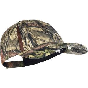 パンサービジョン 帽子 アクセサリー メンズ Panther Vision Men's POWERCAP LED Lighted Hat Mossy Oak Breakup Country astyshop