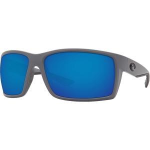 コスタデルマール サングラス・アイウェア アクセサリー メンズ Costa Del Mar Reefton 580P Polarized Sunglasses Grey/Blue astyshop