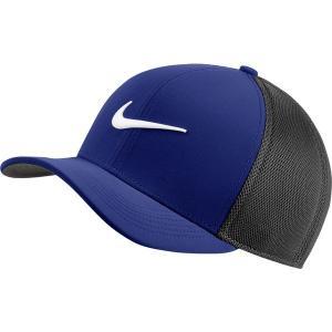 ナイキ 帽子 アクセサリー メンズ Nike Men's Classic99 Mesh Golf Hat Deep Royal Blue/Black astyshop