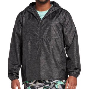 DSG ジャケット&ブルゾン アウター メンズ DSG Men's Packable Run Jacket Grain Scan Black astyshop