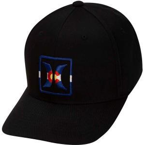 ハーレー 帽子 アクセサリー メンズ Hurley Men's Colorado Flex Hat Black astyshop