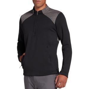 アディダス ジャケット&ブルゾン アウター メンズ adidas Men's Cold.RDY -Zip Golf Pullover Black astyshop
