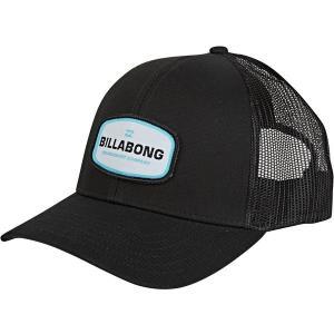 ビラボン 帽子 アクセサリー メンズ Billabong Men's Walled Trucker Hat Black|astyshop
