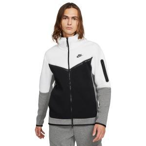 ナイキ パーカー・スウェットシャツ アウター メンズ Nike Men's Sportswear Tech Fleece Full Zip Hoodie White/Black astyshop