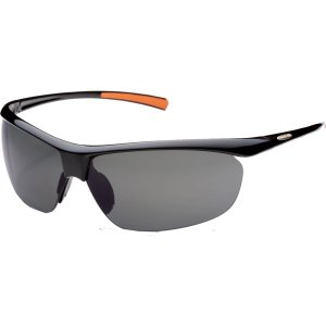 サンクラウド オプティクス サングラス・アイウェア アクセサリー メンズ Suncloud Zephyr Polarized Sunglasses Black/Grey Polarized astyshop