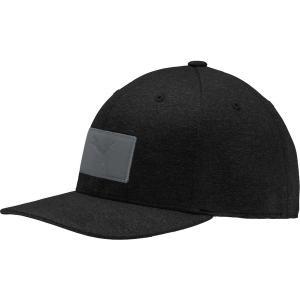プーマ 帽子 アクセサリー メンズ PUMA Men's Utility Patch 110 Snapback Golf Hat Puma Black astyshop