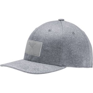 プーマ 帽子 アクセサリー メンズ PUMA Men's Utility Patch 110 Snapback Golf Hat Quarry astyshop