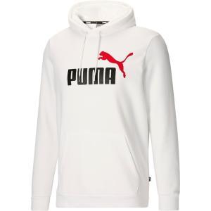 プーマ パーカー・スウェットシャツ アウター メンズ Puma Men's 2 Color Big Logo Hoodie Puma White astyshop