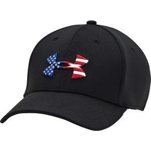 アンダーアーマー 帽子 アクセサリー メンズ Under Armour Men's Freedom Blitzing Hat Black/Black/Red astyshop