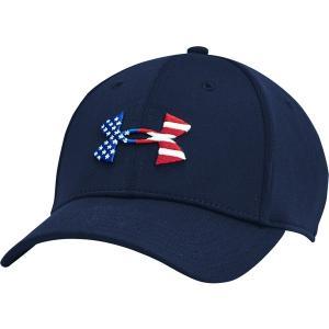 アンダーアーマー 帽子 アクセサリー メンズ Under Armour Men's Freedom Blitzing Hat Academy/Black astyshop